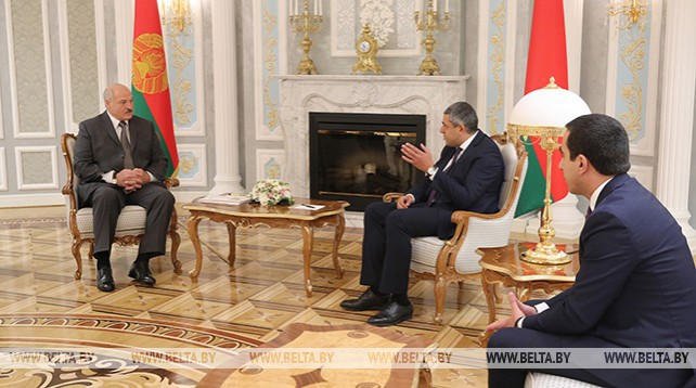 Лукашенко встретился с генеральным секретарем ЮНВТО