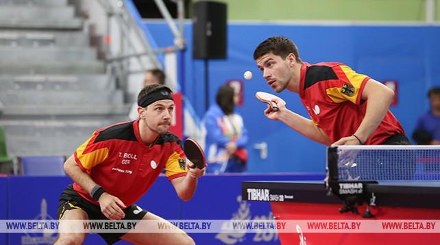 Германия завоевала золото по настольному теннису в командном первенстве у мужчин на II Европейских играх