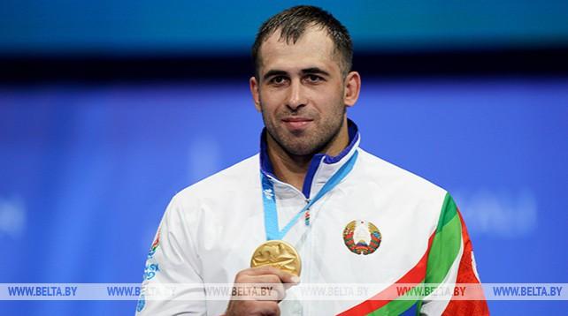 Белорусский борец Кирилл Грищенко завоевал золотую медаль на турнире II Европейских игр