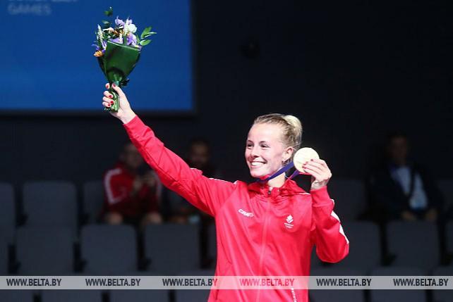 Золото турнира по бадминтону завоевала Миа Бликфельд из Дании