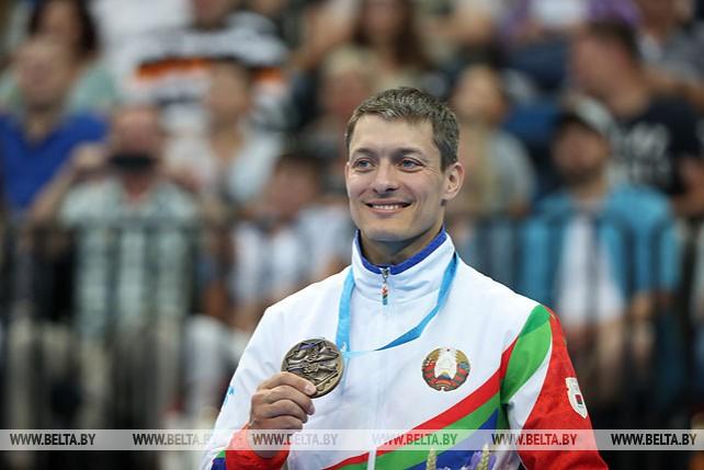 Белорусский гимнаст Андрей Лиховицкий завоевал бронзу II Европейских игр
