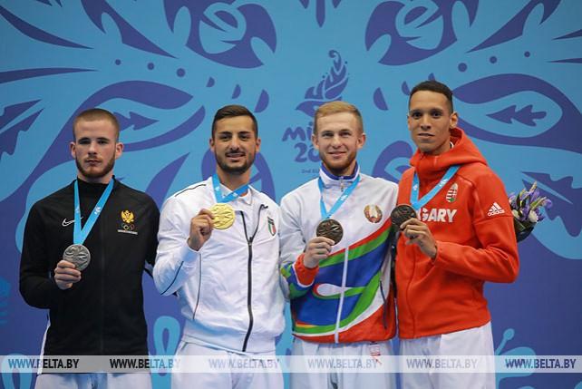 Артем Кравцов стал бронзовым призером в карате II Европейских игр