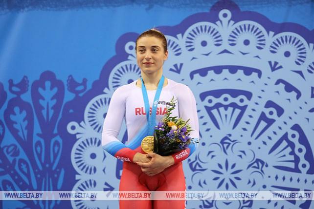 Российская велогонщица Дарья Шмелева выиграла гит на II Европейских играх