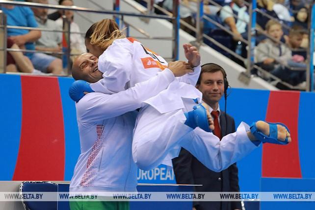 Шесть комплектов наград разыграно в каратэ в последний день II Европейских игр