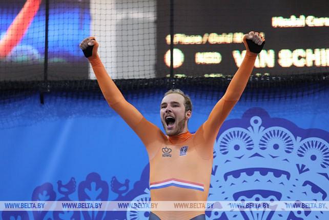 Велосипедист Ян Виллем ван Шип выиграл в омниуме на II Европейских играх