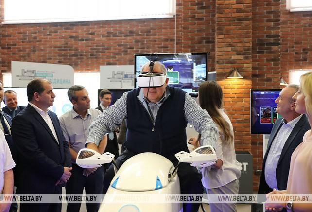 Президент Армении посетил ПВТ