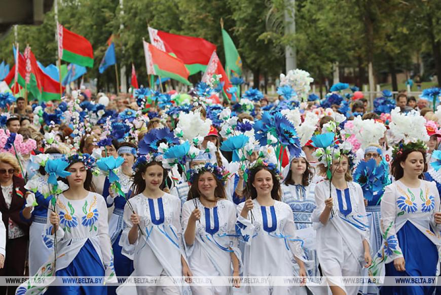 Витебчане празднуют День Независимости