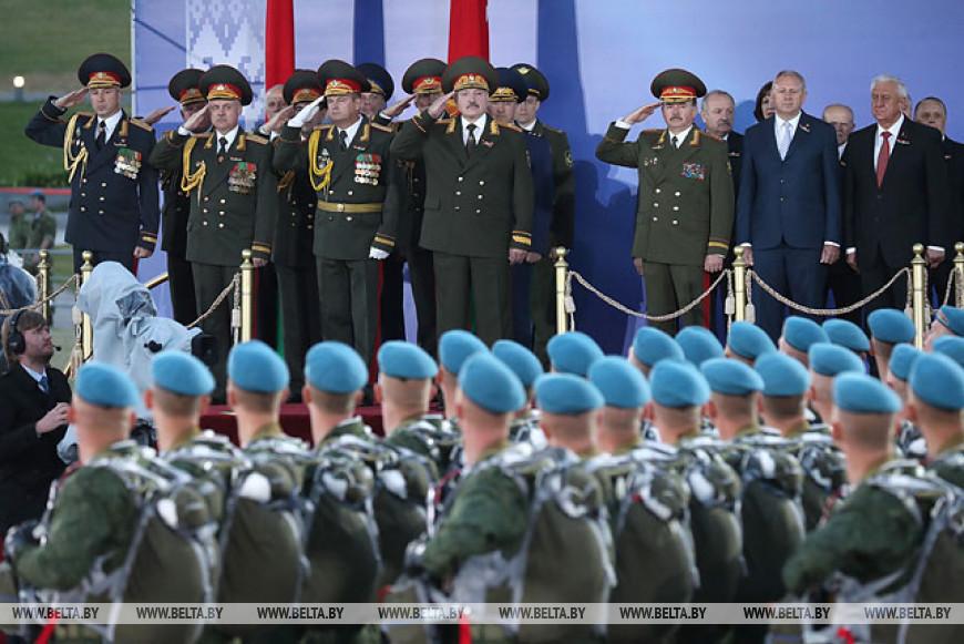 Лукашенко: память о сражавшихся в годы ВОВ - часть национального самосознания белорусов