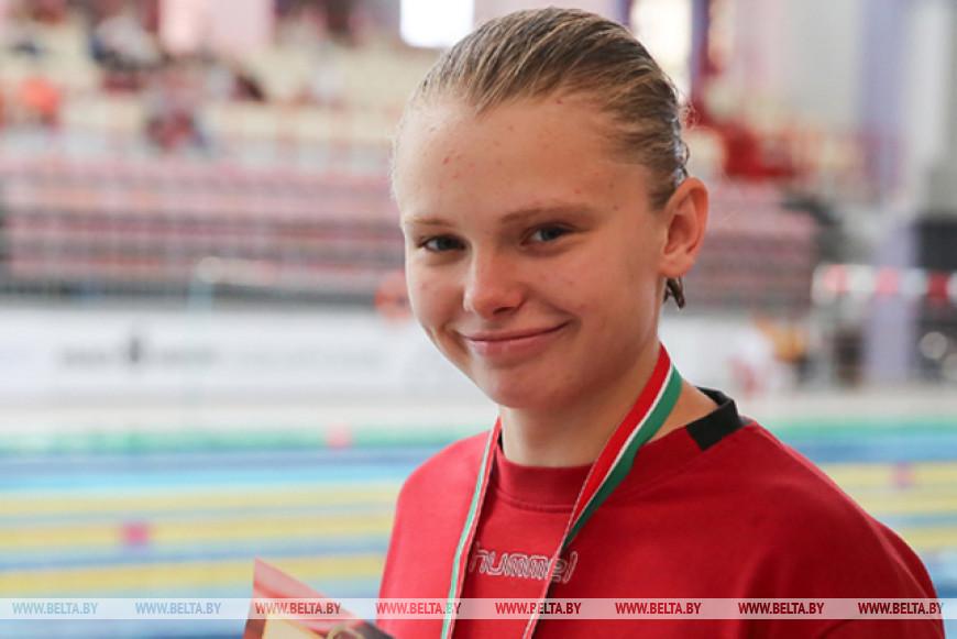 Пловчиха Анастасия Васкевич обновила рекорд Беларуси на 200 м баттерфляем