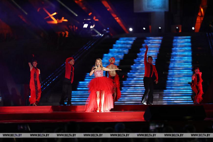Гала-концертом завершилось празднование Дня Независимости в Минске