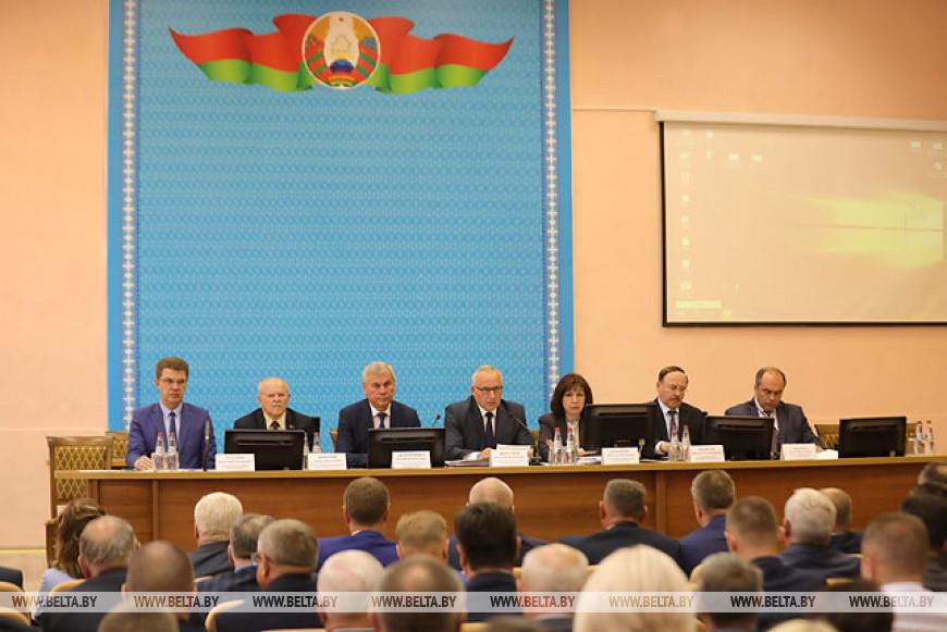 Выездное заседание Витебского облисполкома прошло в Орше