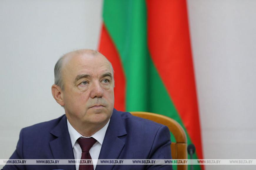 Открытие ежегодного семинара руководителей дипломатических представительств и консульских учреждений Беларуси