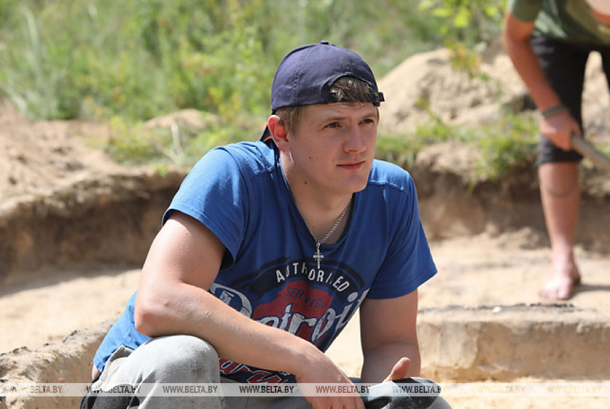 Археологическая экспедиция работает в Лоевском районе