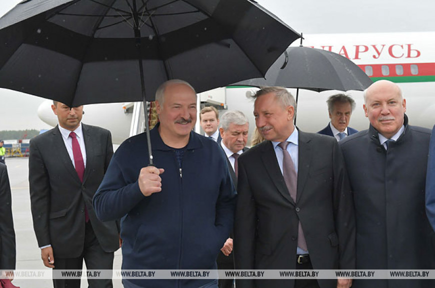 Начался рабочий визит Лукашенко в Россию