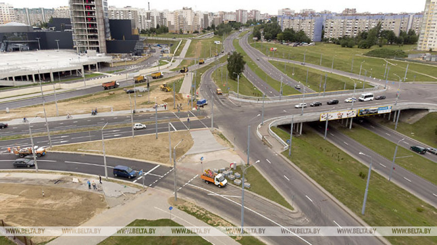 В Гродно открыто движение по реконструированному участку одной из основных городских магистралей