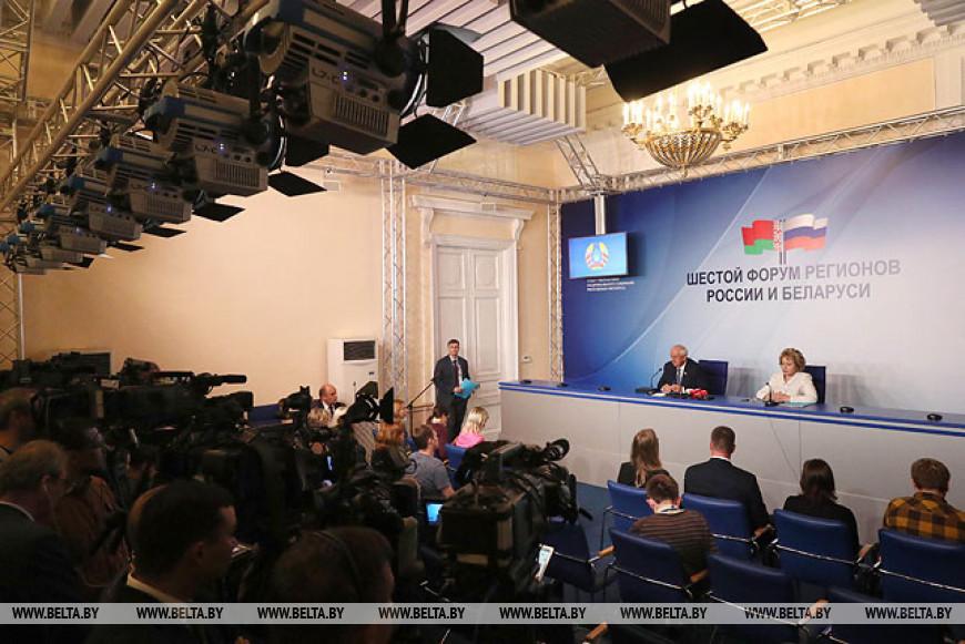 По итогам VI Форума регионов Беларуси и России будет заключено контрактов на сумму не менее $550 млн