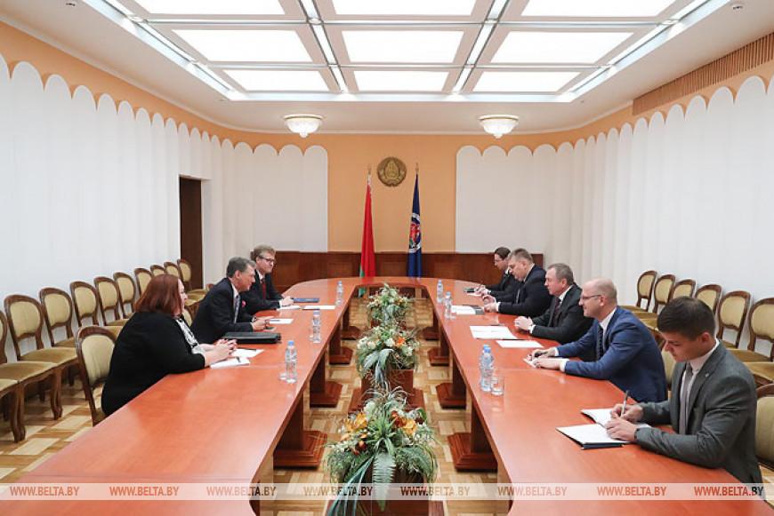 Макей обсудил с заместителем помощника госсекретаря США развитие белорусско-американских отношений
