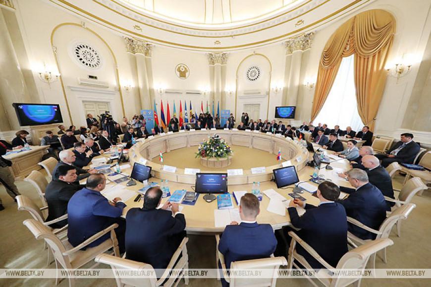 Заседание Межгосударственного совета по противодействию коррупции в Исполнительном комитете СНГ в Минске