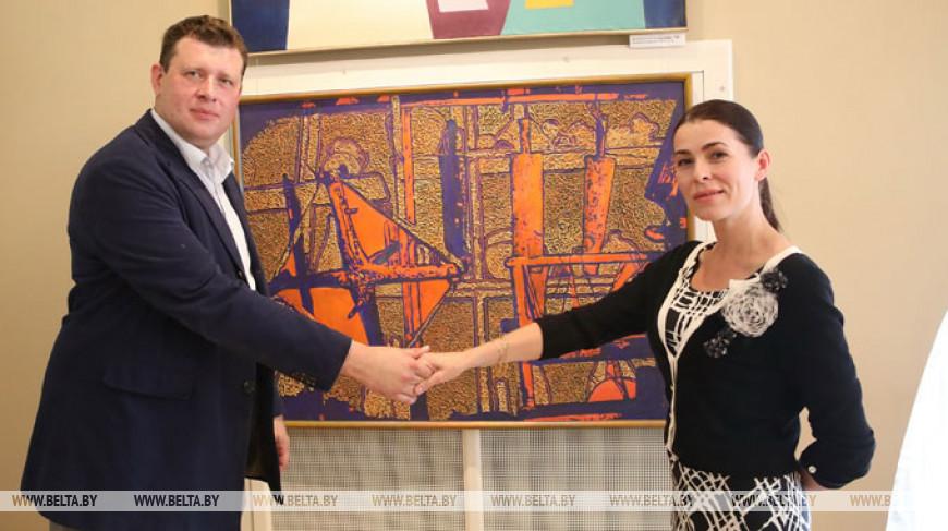 """Выставка """"100 лет. 100 имен"""" открылась во дворце Румянцевых и Паскевичей"""