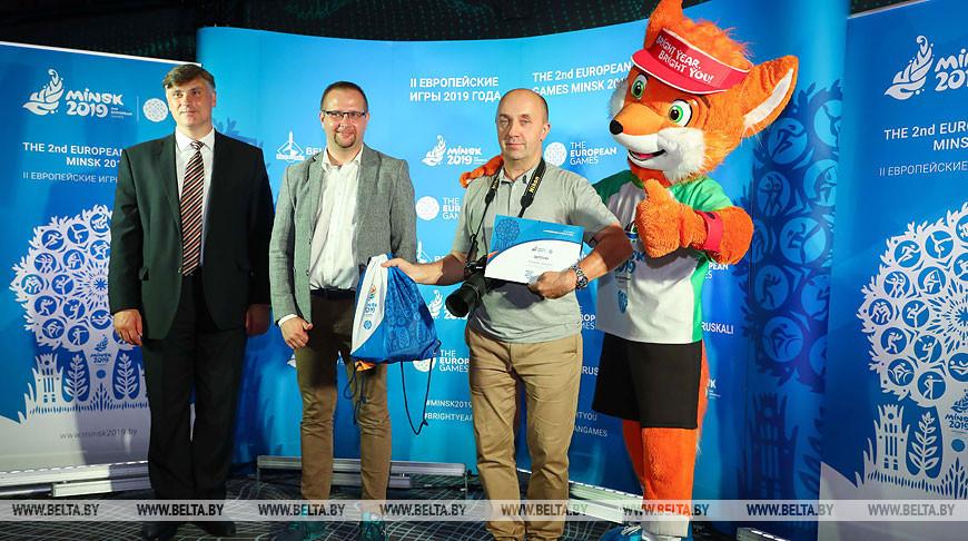 Дирекция II Европейских игр 2019 года чествовала представителей СМИ