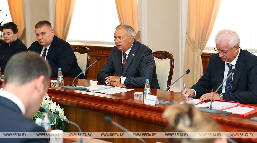 Румас встретился с министром иностранных дел Латвии