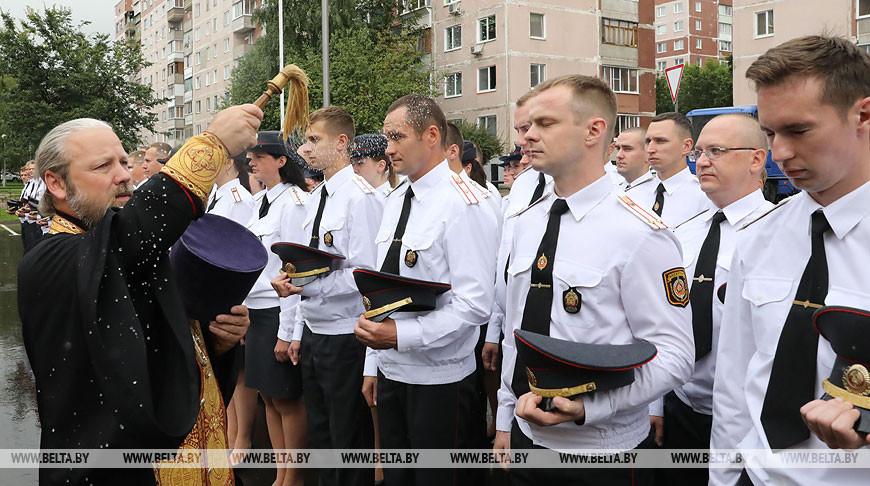 Новое здание Первомайского РОВД открылось в Витебске