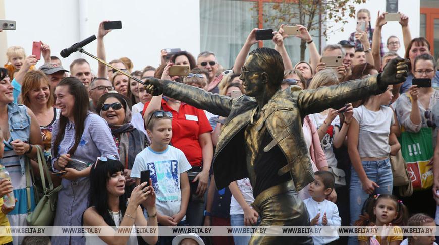 Артистов из 7 стран собрал в Гродно Биг-мини-фестиваль уличного искусства