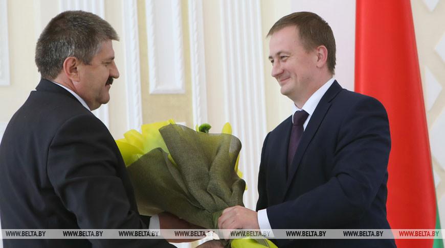 Гомельский облсовет депутатов утвердил Соловья в должности председателя облисполкома