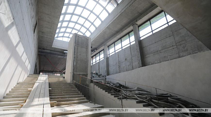 """На станции метро """"Вокзальная"""" завершаются строительные работы"""