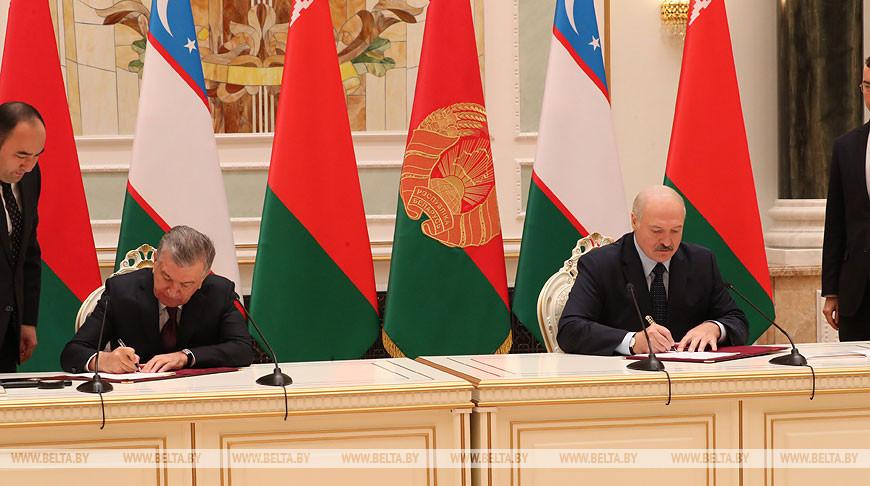 Беларусь и Узбекистан договорились всемерно способствовать дальнейшему росту двусторонних отношений