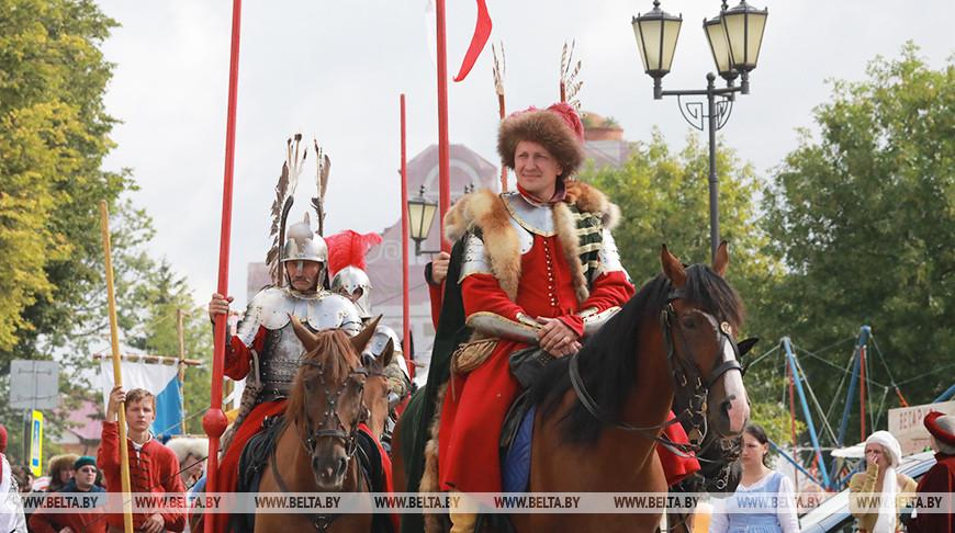 Рыцарский фест проходит в Мстиславле