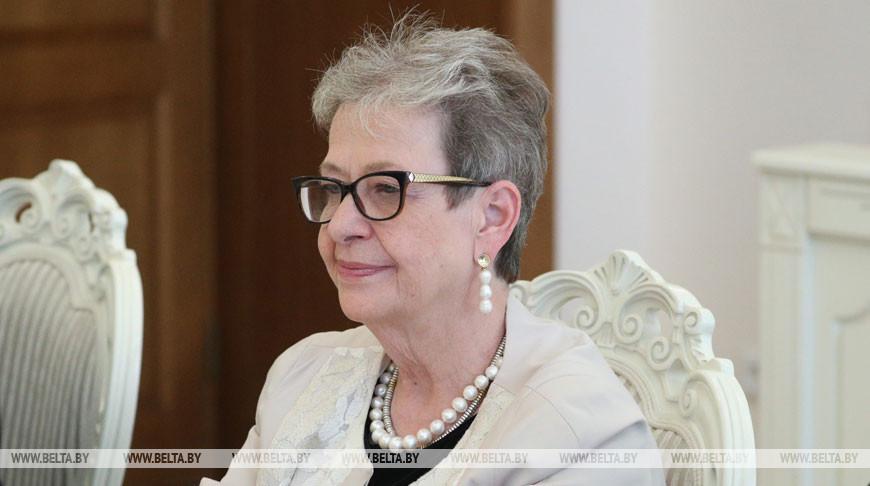 Румас встретился с главой представительства ЕС в Беларуси Андреа Викторин