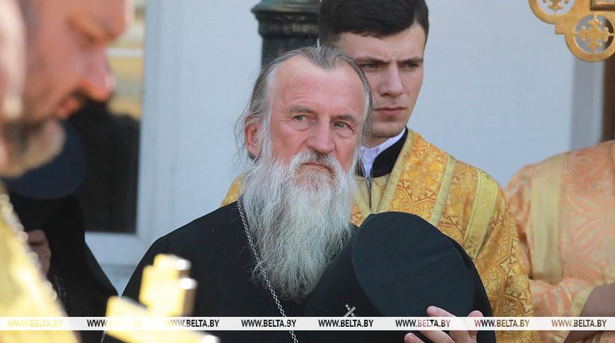 В День памяти святого Георгия Конисского в Могилеве провели литургию и крестный ход