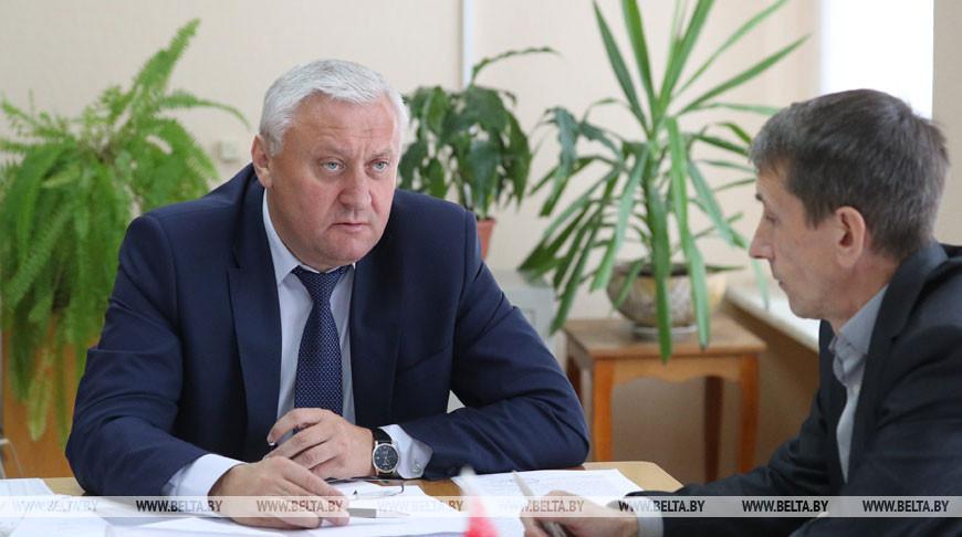Владимир Дворник провел прием граждан