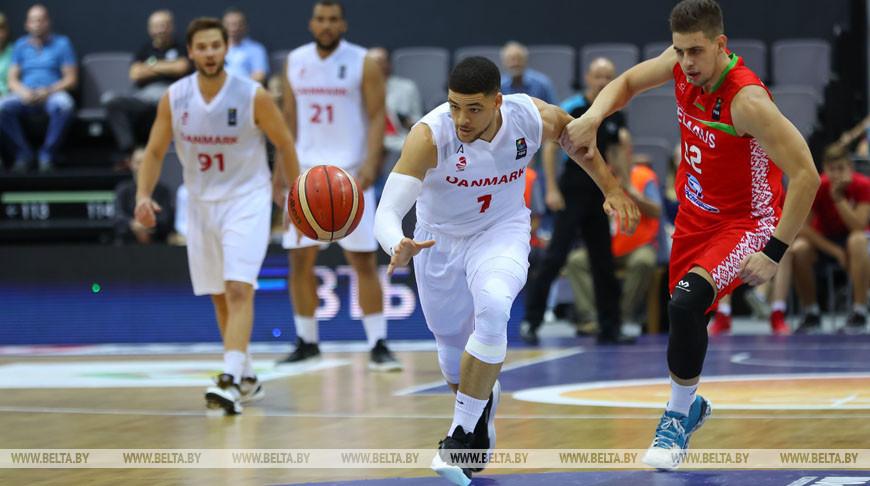 Баскетболисты сборной Беларуси проиграли датчанам в квалификации чемпионата Европы