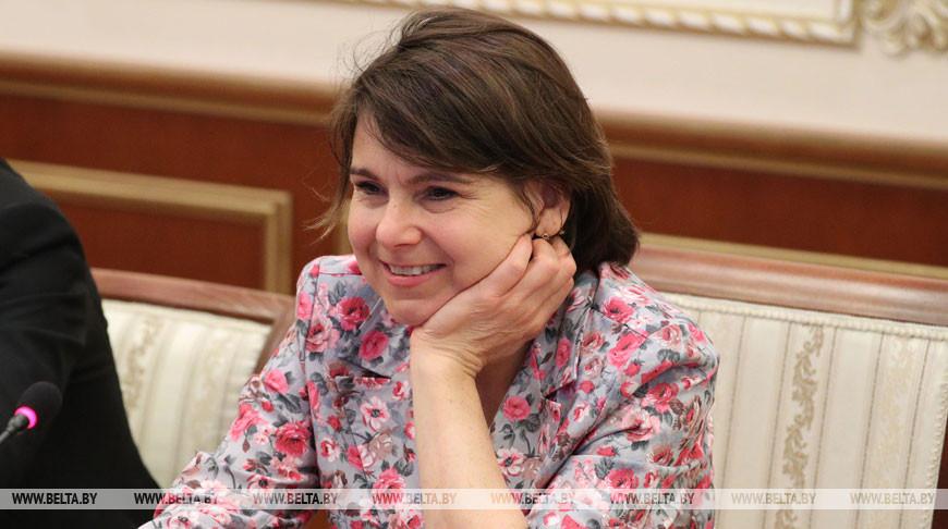 Владимир Андрейченко встретился с Фионной Гибб