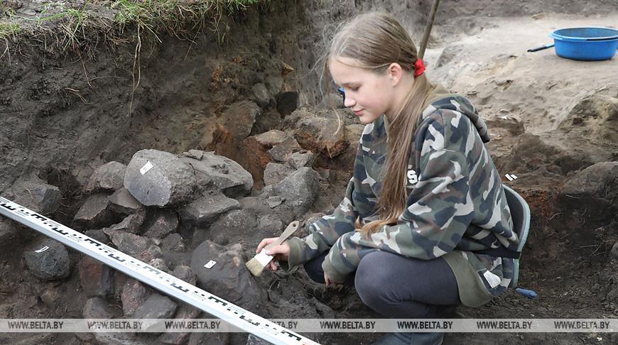 Археологи нашли фрагменты загородной резиденции полоцких князей XII века
