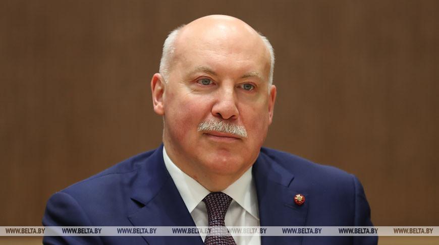 Мясникович встретился с послом России