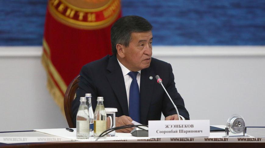Президент Кыргызстана встретился с участниками Евразийского межправительственного совета