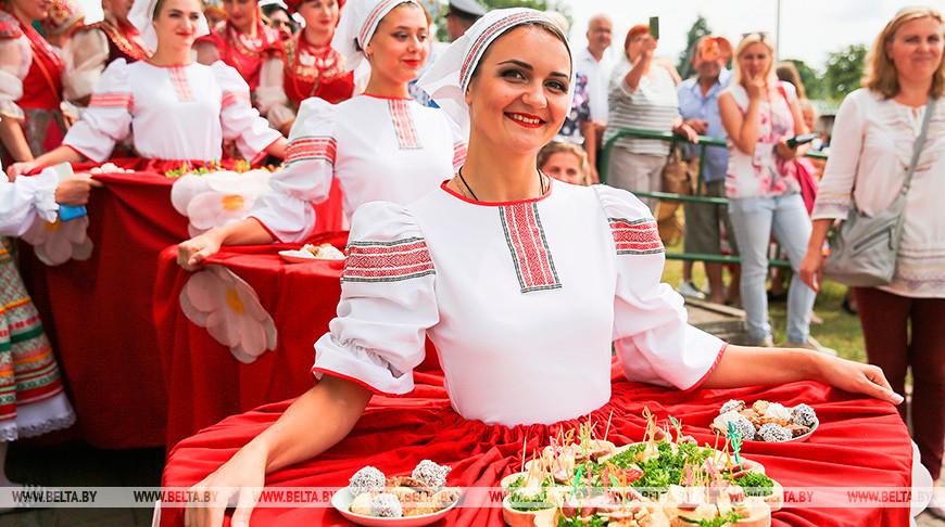 """Фестиваль """"Мотальскія прысмакі"""" прошел в Ивановском районе"""