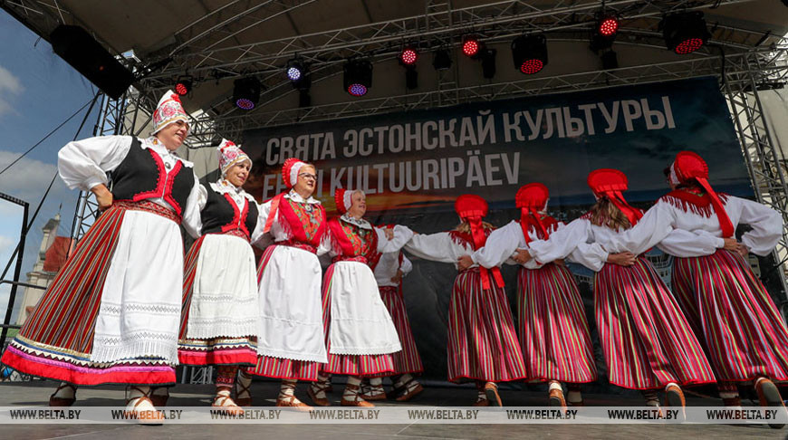 Праздник эстонской культуры прошел в Верхнем городе