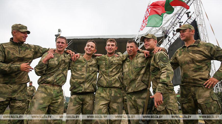 Белорусская команда победила в снайперской эстафете АрМИ-2019