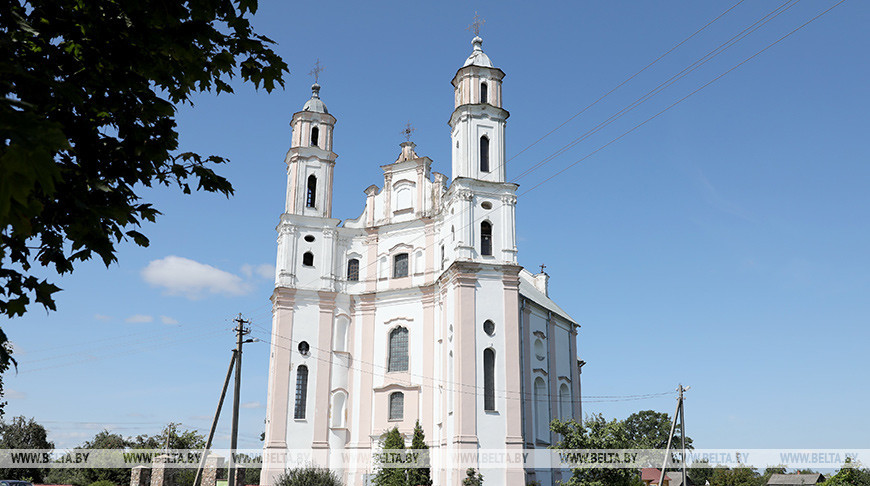 Костел Святого Михаила Архангела в Лужках - памятник архитектуры XVIII века