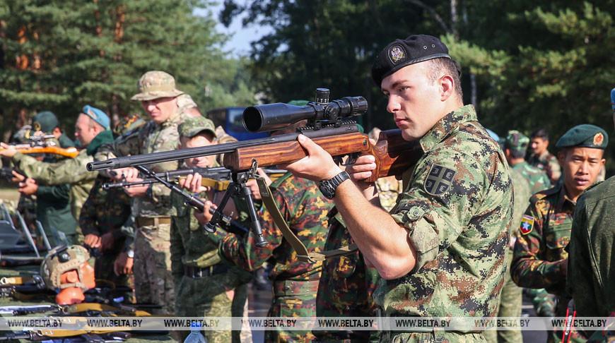 Около 400 военнослужащих из 21 государства стали участниками АрМИ в Бресте