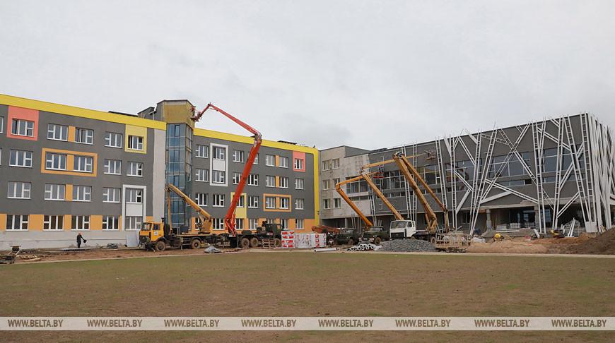 Новую школу в Могилеве откроют 1 сентября