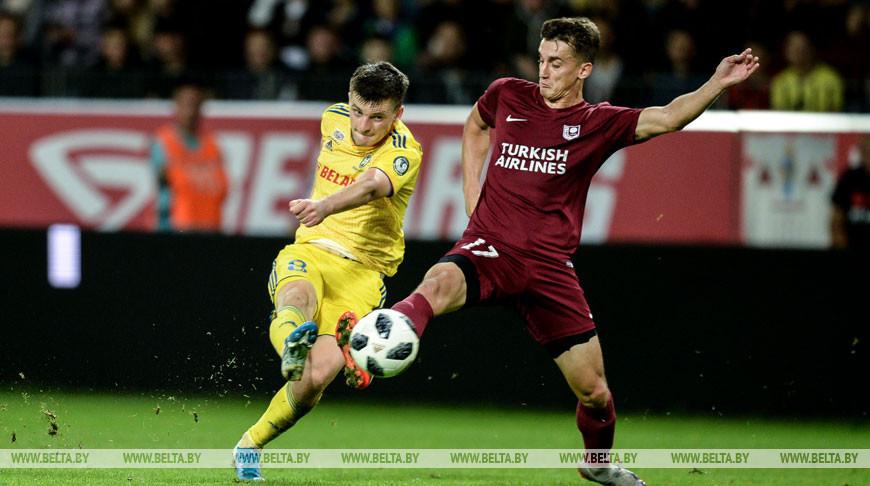 Футболисты БАТЭ вышли в плей-офф квалификации Лиги Европы