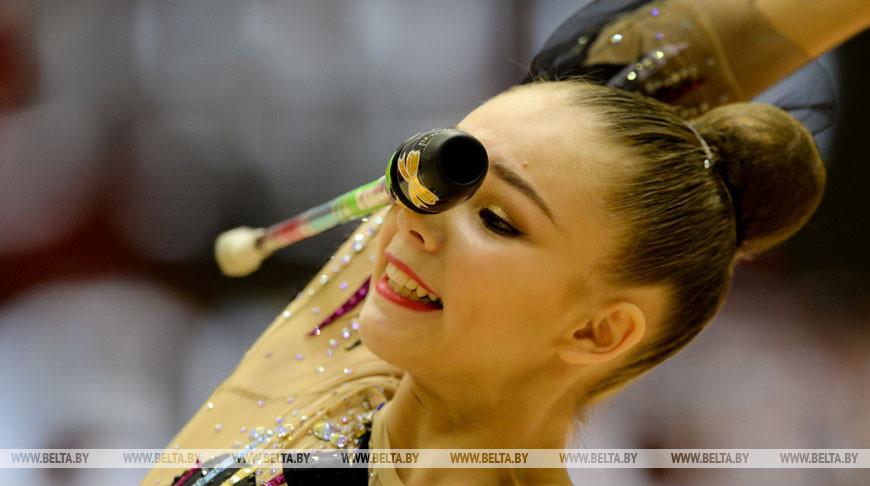 Второй день этапа КМ по художественной гимнастике в Минске