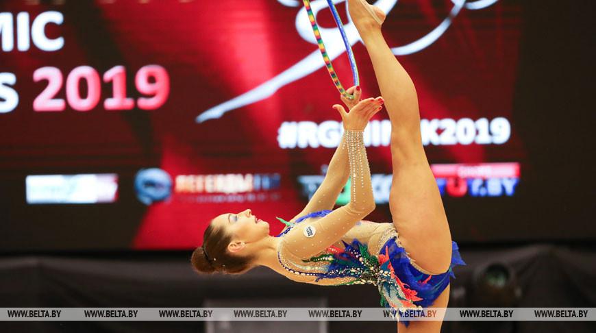 Этап Кубка мира по художественной гимнастике завершился в Минске
