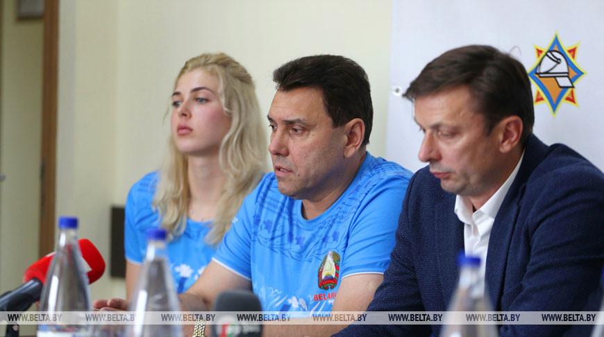 О подготовке белорусских волейболистов к ЧЕ-2019 рассказали на пресс-конференции в Минске