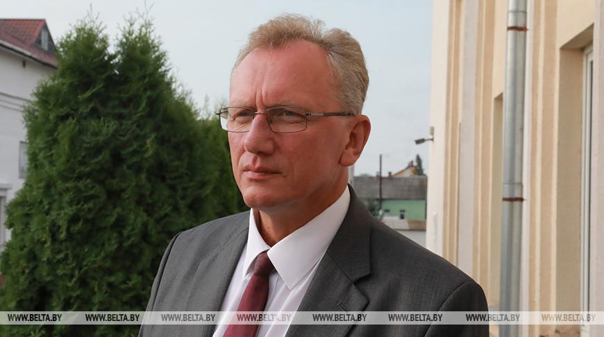 Новый председатель Белыничского райисполкома Василий Захаренко представлен активу и депутатам района